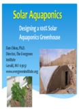 Designing a 100% Solar Aquaponics Greenhouse - The Aquaponic