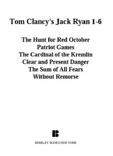 Tom Clancy's Jack Ryan 1-6