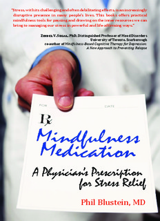 Mindfulness Book ('Mindfulness Medication' by Dr. Phil