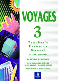 Douglas, Swain Lorna Joy. Voyages 3 Teacher's Resource Manual
