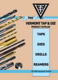 Vermont Tap & Die catalog - J.W. Donchin Co