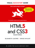 HTML5 And CSS3 Visual Quick Start Guide 7th Edition