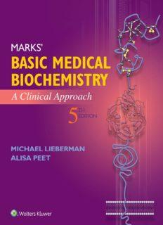 Marks' Basic Medical Biochemistry: A Clinical Approach (5th Edition)