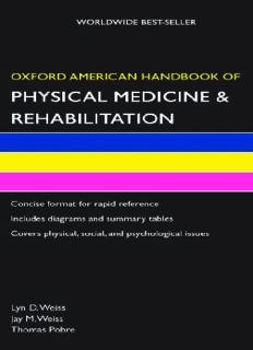 Oxford American Handbook of Physical Medicine & Rehabilitation (Oxford American Handbooks)