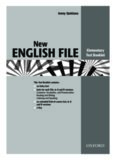 a test for each File of New English File Elementary
