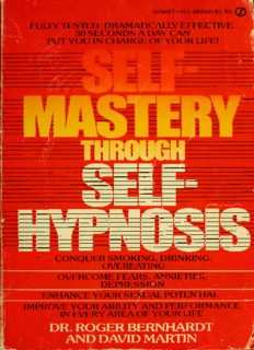 Self-mastery through self-hypnosis