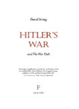 Hitler's War - David Irving's Website