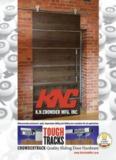 New Sliding Door Track Catalogue - K.N. Crowder