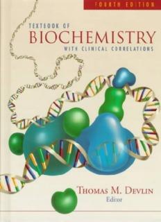 Textbook of Biochemistry
