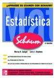 Estadística. Serie Schaum- 4ta edición - Murray R. Spiegel.pdf