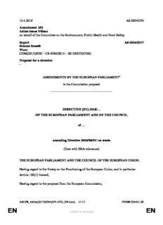 12.4.2018 A8-0034/253 Amendment 253 Adina-Ioana Vălean on behalf of the Committee on the ...
