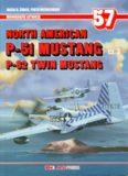 North American P-51 Mustang P-82 Twin Mustang Cz.3 (AJ-Press Monografie Lotnicze 57)
