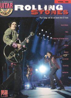 THE ROLLING STONES           VOLUME 66 BK CD (Hal Leonard Guitar Play-Along)