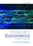 Introductory econometrics. A modern approach