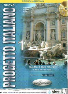 Nuovo Progetto Italiano 1 Quaderno degli esercizi. Edizione aggiornata