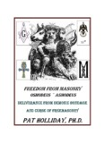 Masonic Orders and Degrees - Pat Holliday - Remnantradio.org