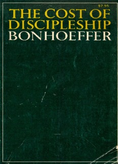 The Cost of Discipleship - St Aidans