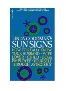 Sun Signs (Linda Goodman)