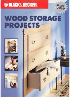 The Black & Decker Complete Guide to Wood Storage Projects: Built-in & Freestanding Projects For All Around the Home
