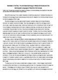 Goddess in the Sky The Archaeomythology of Marija Gimbutas and the Astrological Language of ...