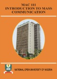 mac 101: introduction to mass communication - National Open