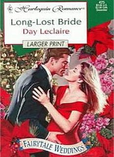 Long Lost Bride (Fairytale Weddings) (Harlequin Romance)