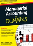 Managerial Accounting For Dummies