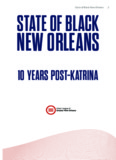 State of Black New Orleans: 10 Years Post Katrina