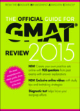 The Official Guide for GMAT Review 2015 – Graduate Management Admission Council