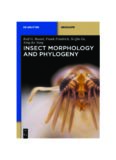 Insect Morphology and Phylogeny: A textbook for students of entomology