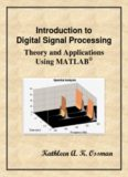 Introduction to Digital Signal Proce Introduction to Digital Signal Processing al Processing