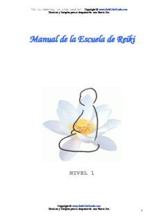 Manual de la Escuela de Reiki