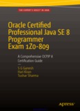 Oracle Certified Professional Java SE 8 Programmer Exam 1Z0-809