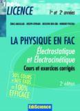 Electrostatique et Electrocinetique. Rappel de cours et exercices corriges de Physique