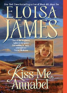 Kiss Me, Annabel (Essex Sisters, book 2)