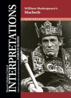 Macbeth - William Shakespeare, New Edition (Bloom's Modern Critical Interpretations)
