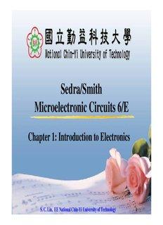 Sedra/Smith Microelectronic Circuits 6/E
