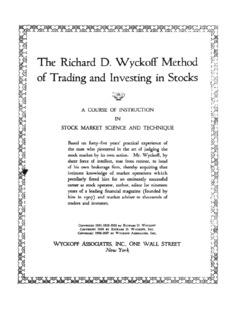 Richard D Wyckoff