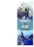 Spitfire IIV vs Bf 109F.  Channel Front 1940-1942 (Osprey Duel 67)