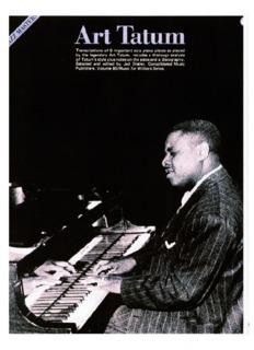 Art Tatum - Jazz Piano Solos 2.pdf - SamHimmelman