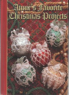 Annie's Favorite Christmas Projects (Crocheting Patterns)