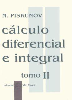 Calculo diferencial e integral tomo2 – N. Piskunov