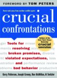 Crucial Confrontations: Tools for talking about broken promises, violated expectations, and bad