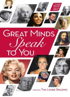Great Minds Speak to You