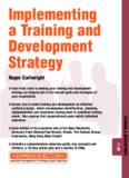Developing and Implementing a Training and Development Strategy (Training & Development)