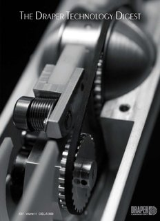 The Draper Technology Digest - Charles Stark Draper Laboratory