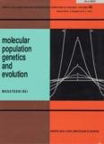 Molecular population genetics and evolution