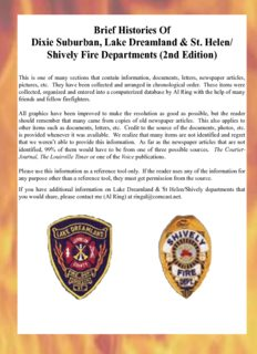 Shively Fire Departments