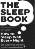 The Sleep Book How to Sleep Well Every Night