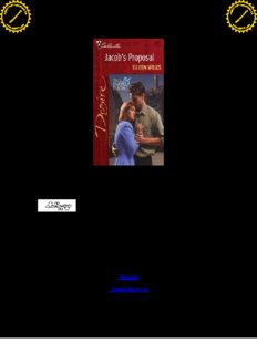 Wilks, Eileen - Jacob's Proposal (Harlequin)